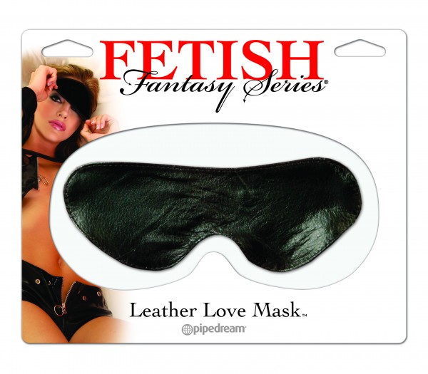 Love Mask-leather Blindfold