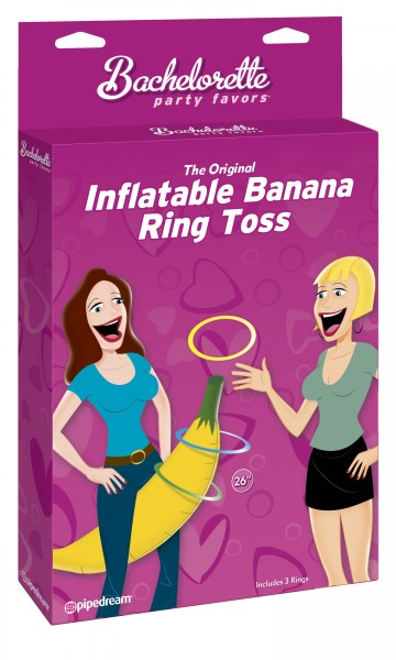 Bp Inflatable Banana Ring Toss