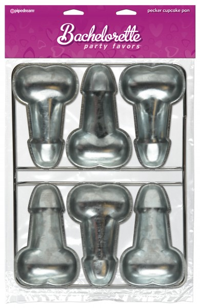 Pecker Cup Cake Pan