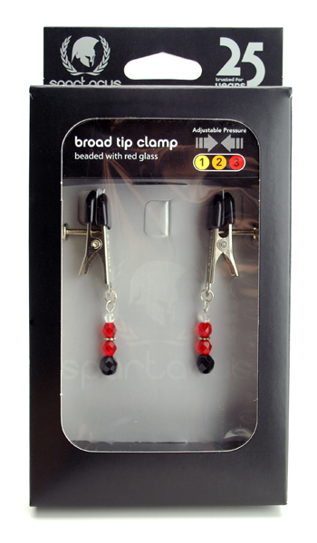Adl Clamp W/ Red Beads