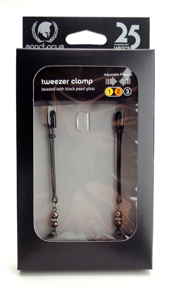 Tweezer Clamp W/ Pearl Black