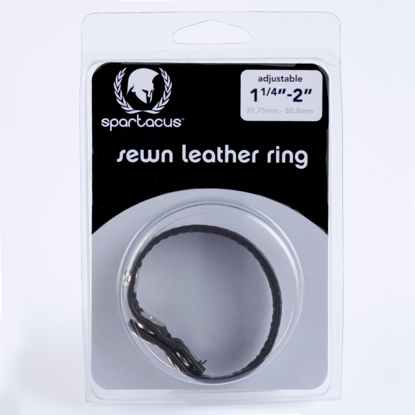 Sewn Leather C Ring