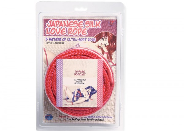 Japanese Love Rope 5m Red