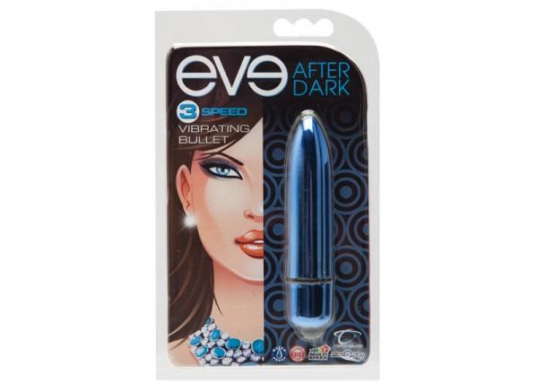 Eve After Dark Vibrating Bullet Cobalt