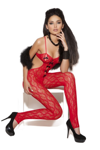 Body Stocking Red O/s