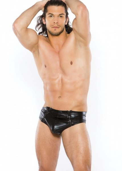 Zeus Men's Wetlook Brief