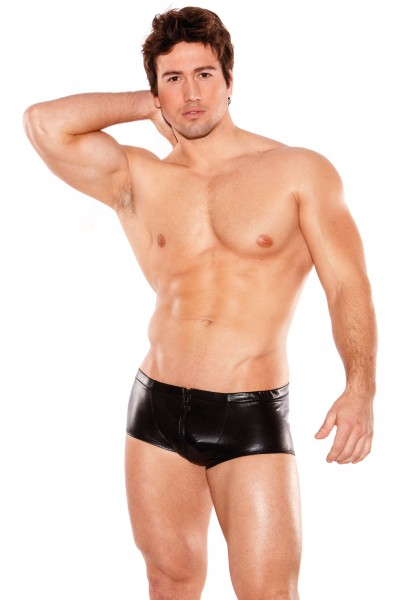 Zeus Wet Look Shorts O/s (men's)