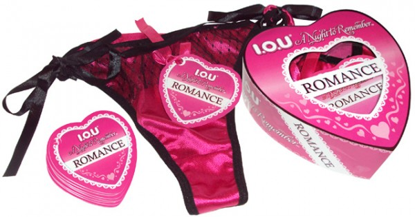 Iou Romance Heart Panty Game