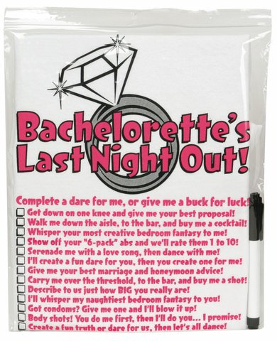 Bachelorette T-shirt W/pen