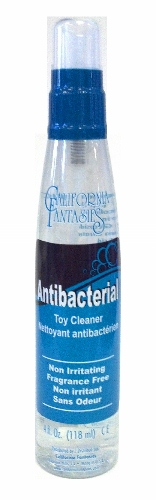 Antibacterial Toy Cleaner Pump Bottle 4oz