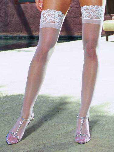 Thigh High Silicone White Os tuscany