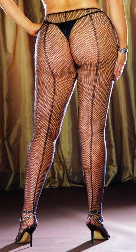 Pantyhose Fence Net Black Os Queen barcelona