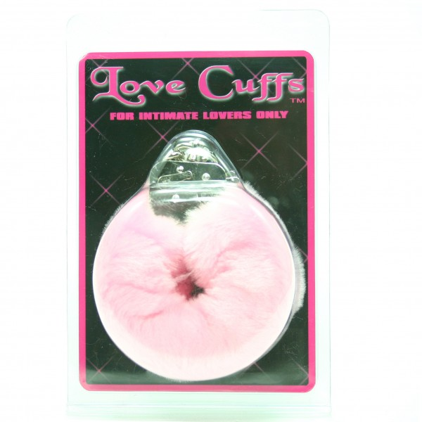 Love Cuffs Plush Pink