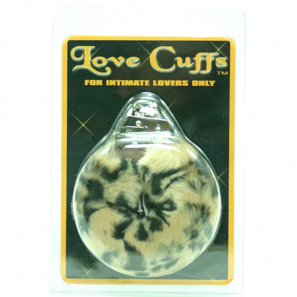 Love Cuffs Plush Leopard