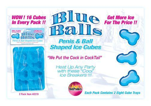 Blue Balls Penis Ice Cube Tray