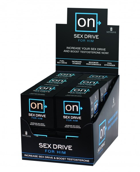 On Sex Drive 12pc Display Refill
