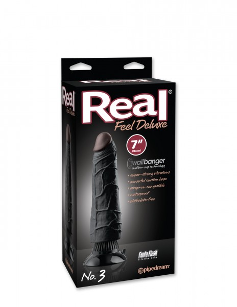 Real Feel Deluxe #3 Black