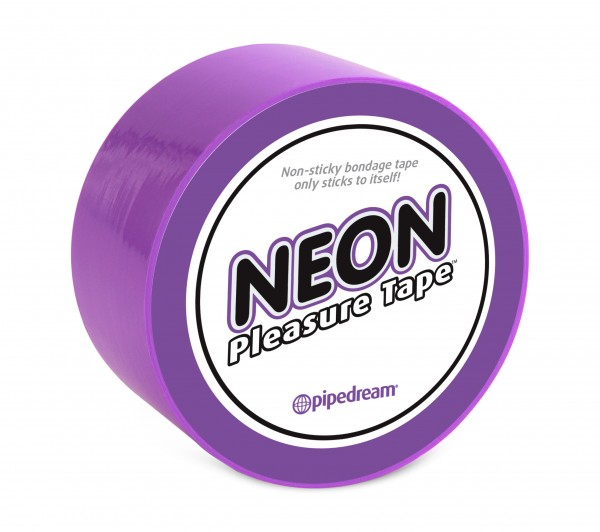 Neon Bondage Tape Purple