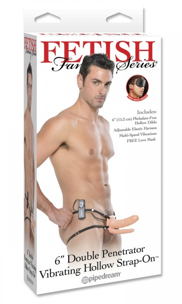 Fetish Fantasy Double Penetrator Vibrating Flesh
