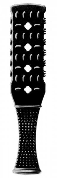 Fetish Fantasy Rubber Paddle Black
