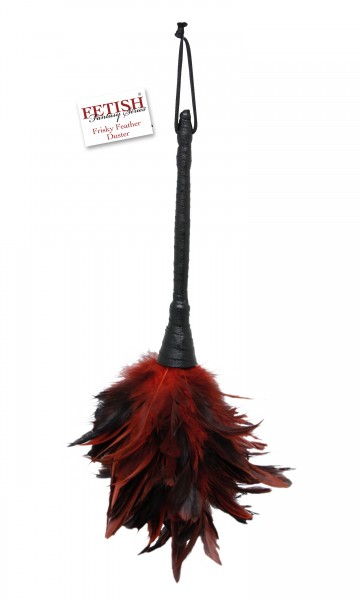 Frisky Feather Duster Red