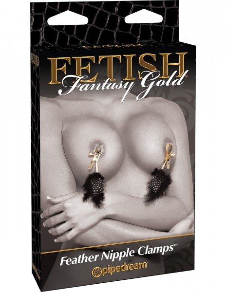 Fetish Fantasy Deluxe Feather Clamps