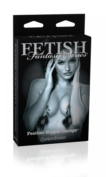 Fetish Fantasy Limited Feather Nipple Clips