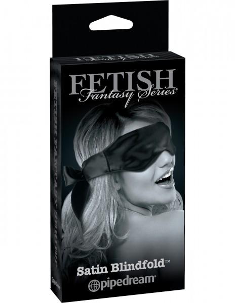 Fetish Fantasy Satin Blindfold Black