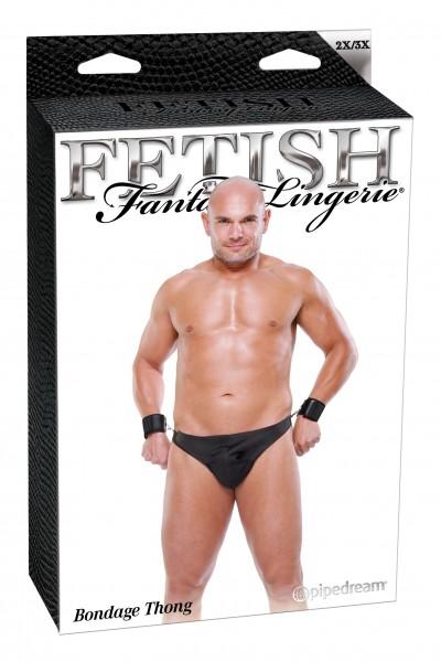 Fetish Fantasy Male Bondage Thong 2xl/3xl(wd)