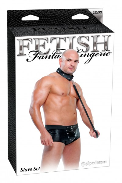Fetish Fantasy Male Slave Set 2xl/3xl(wd)