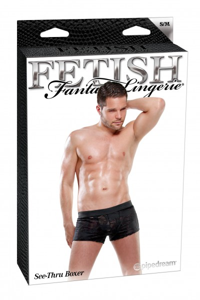 Fetish Fantasy Male See Thru Boxer S/m(wd)