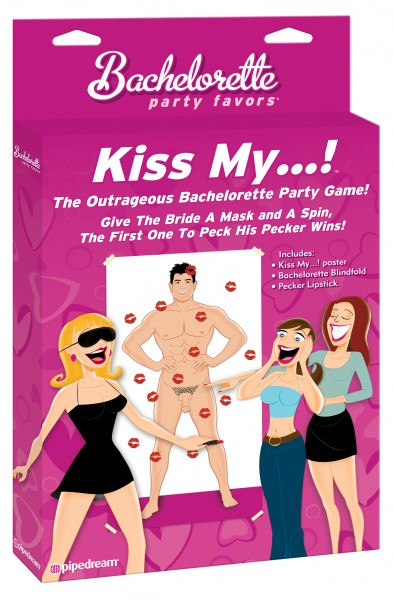 Bachelorette Kiss My... Party Game