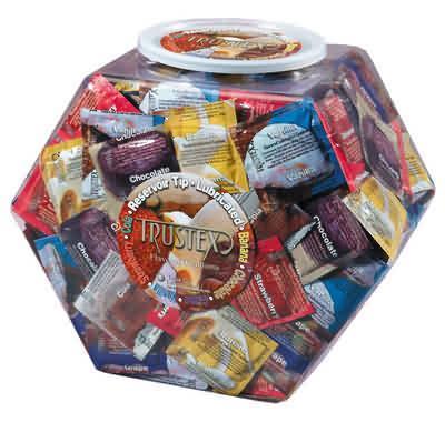 Trustex Flavors (288 Per Bowl)