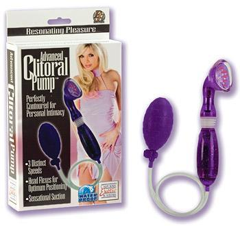 Advanced Clitoral Pump Purple