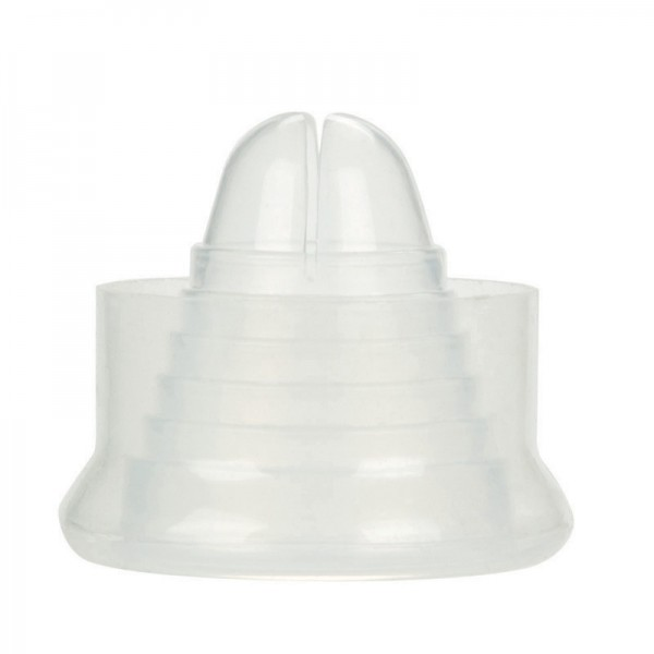 Universal Silicone Pump Sleeve Clear