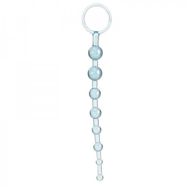 Shane's Anal 101 Intro Beads Blue
