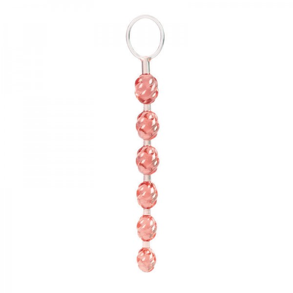 Swirl Pleasure Beads Pink