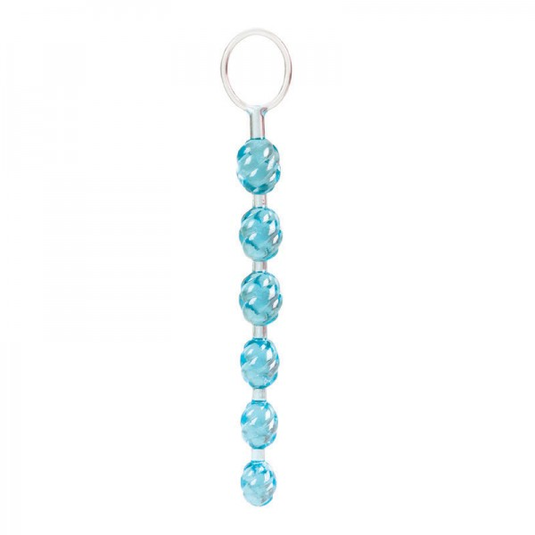 Swirl Pleasure Beads Teal