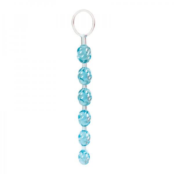 Swirl Pleasure Beads Teal