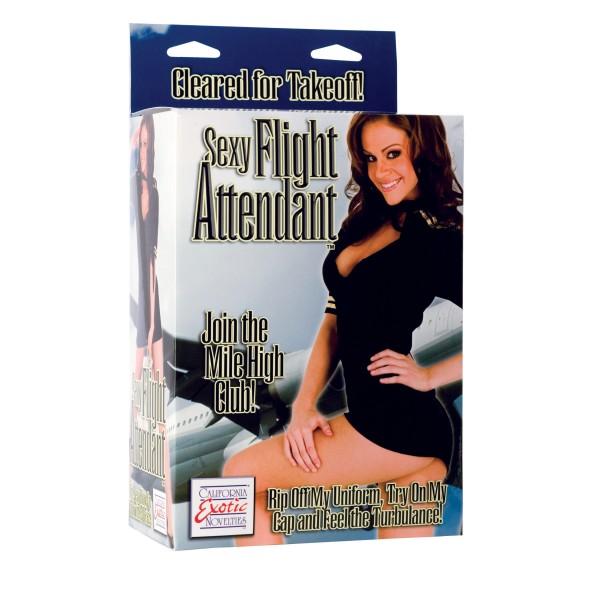 Sexy Flight Attendant Doll