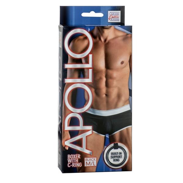 Apollo Boxer W/cring Black M/l