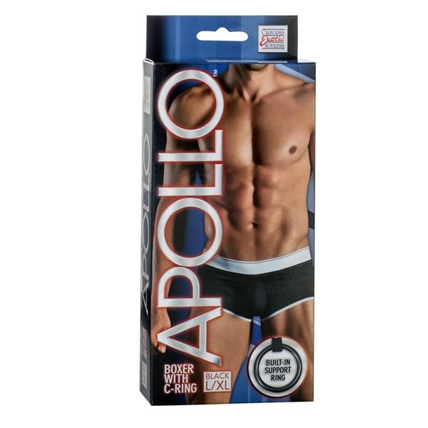 Apollo Boxer W/cring Black L/xl