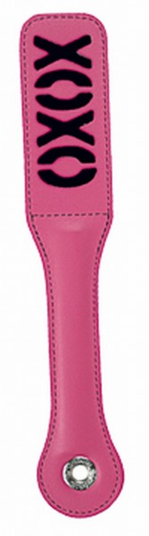 S&m Blush Xoxo Pink/black Paddle