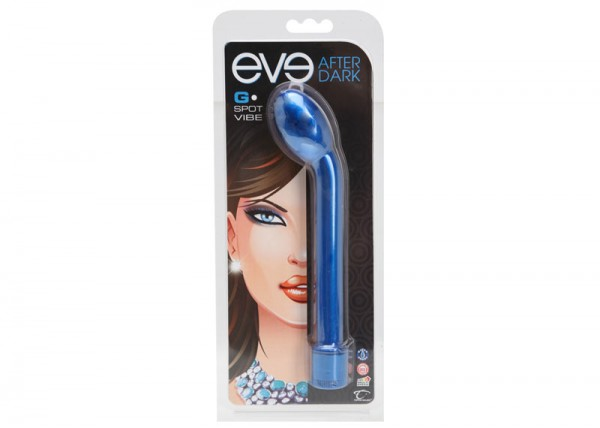 Eve After Dark G-spot Vibe Cobalt