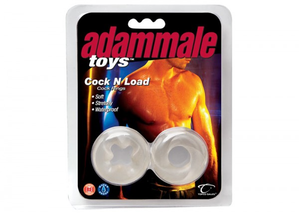 Adam Male Cock N Load Cock Rings