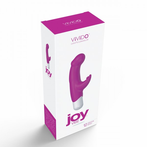 Vivido Joy Mini Vibe Hot In Bed Pink