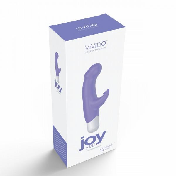 Vivido Joy Mini Vibe Orgasmic Orchid