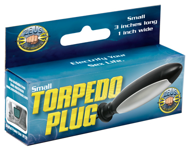 Zeus Electrosex Torpedo Plug