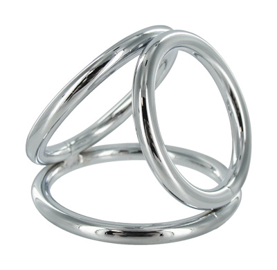 Ms Triad Medium 1.75 Triple Cock Ring