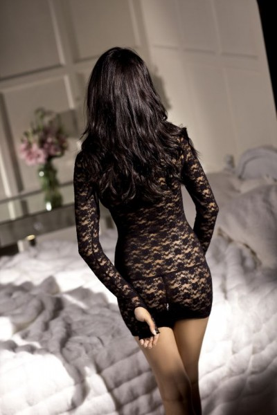 Long Sleeve Mini Dress O/s